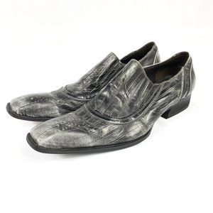 Fiesso By Aurelio Garcia Square Toe Leather Shoes